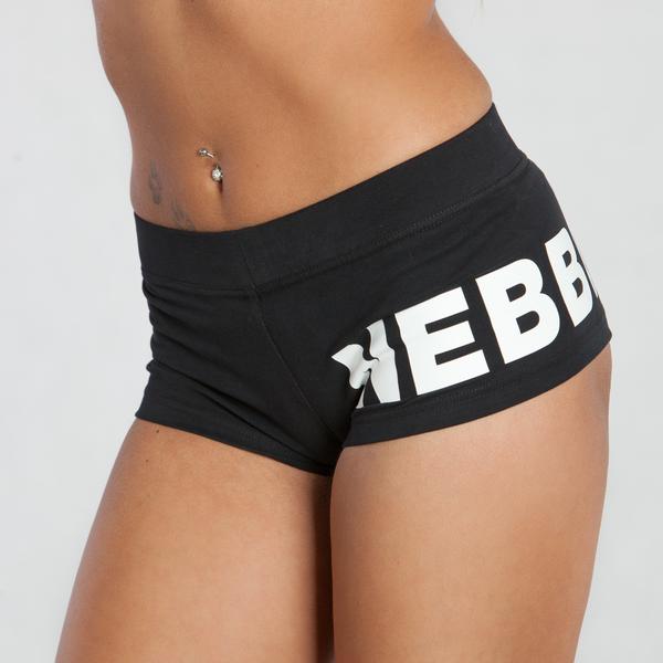 Nebbia Kraťásky 263 Black, L - 4