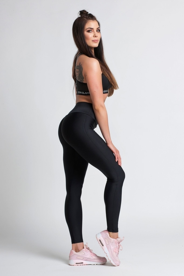 Gym Glamour Legíny Black, S - 4