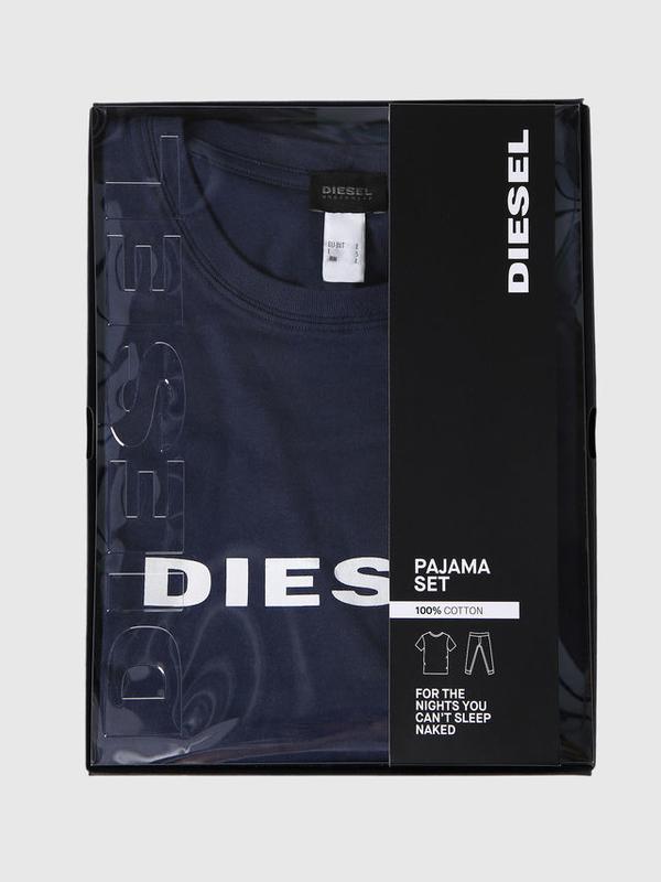 Diesel Pyžamový Set Modrý, S - 4