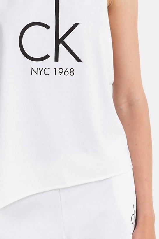Calvin Klein Tílko NYC Bílé, S - 4