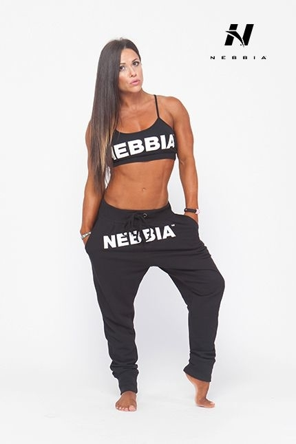 Nebbia Tepláky Černé - 274 - 4