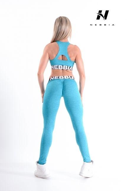 Nebbia Sportovní Podprsenka 223 Modrá, L - 4