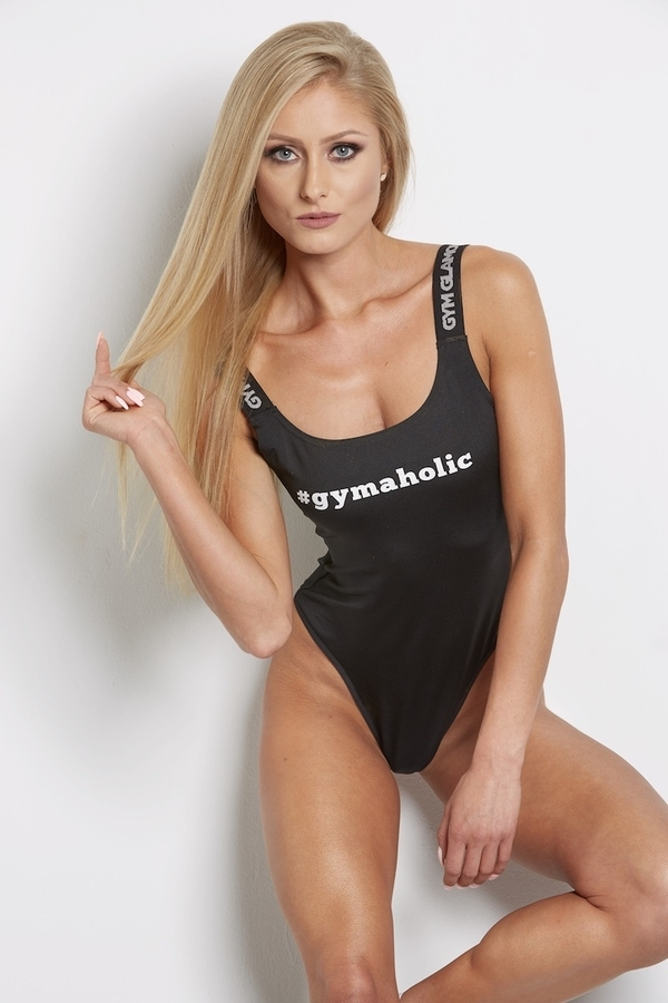 Gym Glamour Bodyčko Černé, S - 4