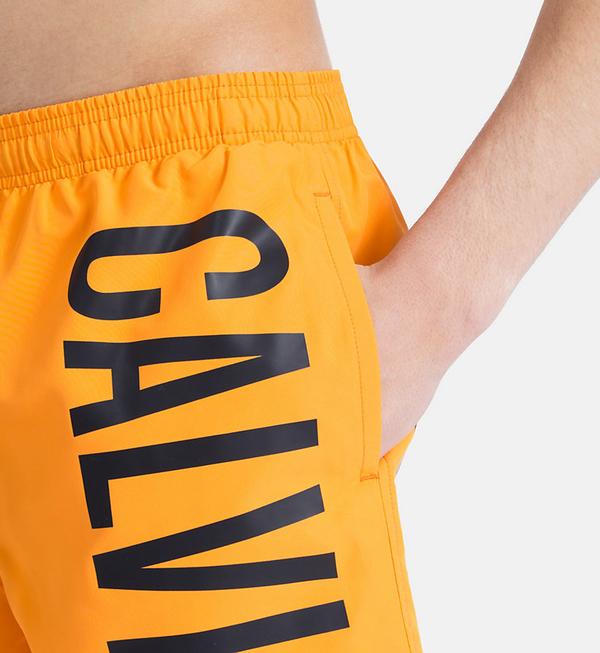 Calvin Klein Plavkové Šortky Intense Power Orange, XL - 4