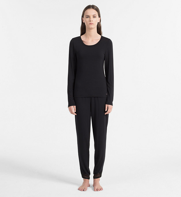 Calvin Klein Triko Sculpted Black, XS - 4