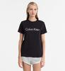 Calvin Klein Logo Dámské Tričko Černé, XS - 4/4