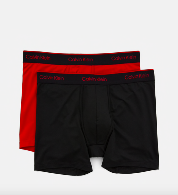 Calvin Klein 2Pack Boxerky Pro Air Red&Black - 4