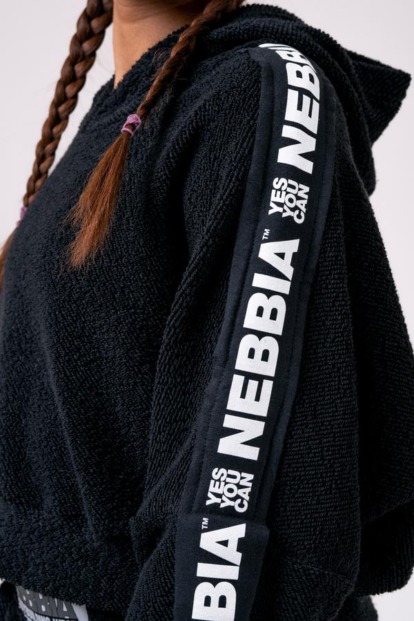 Nebbia Mikina 520 Rebel Hero - Černá, S - 4