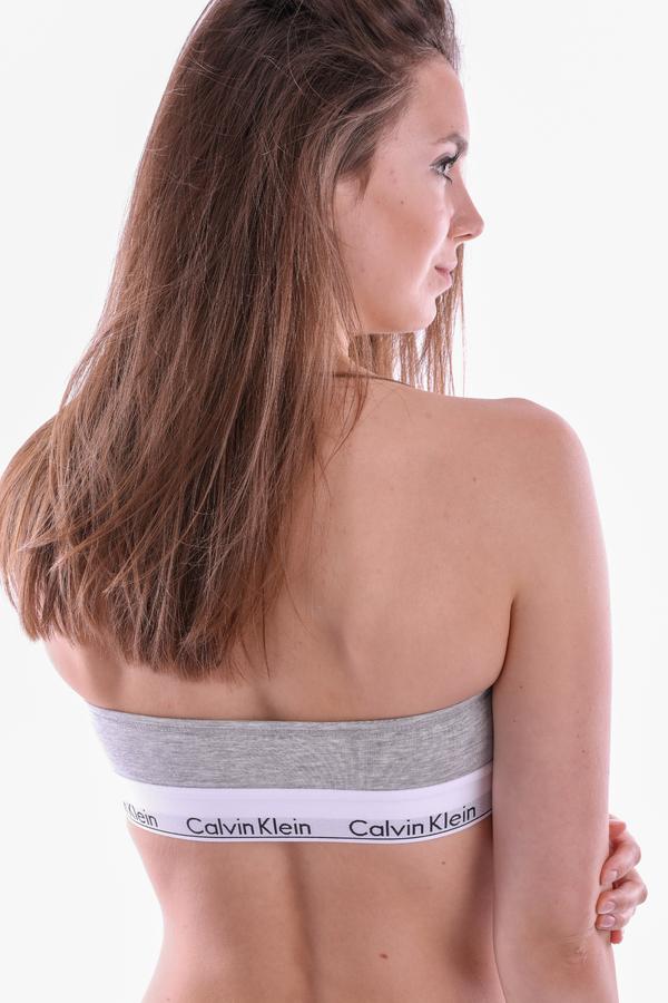 Calvin Klein Podprsenka Bandeau Grey, XS - 4