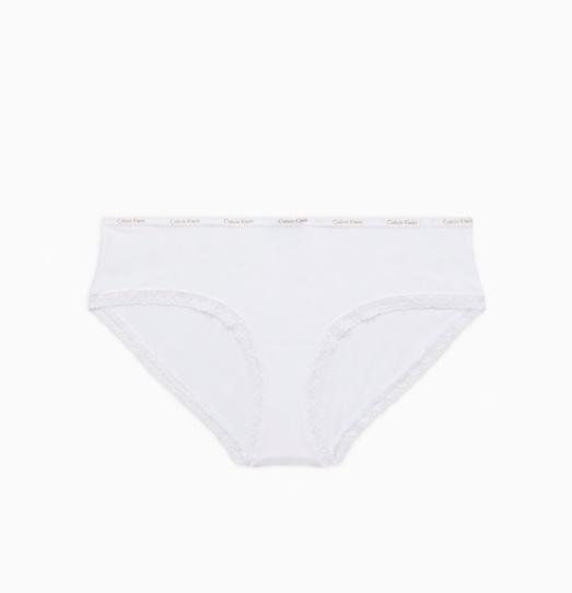 Calvin Klein Hipster Kalhotky Bílé - 4