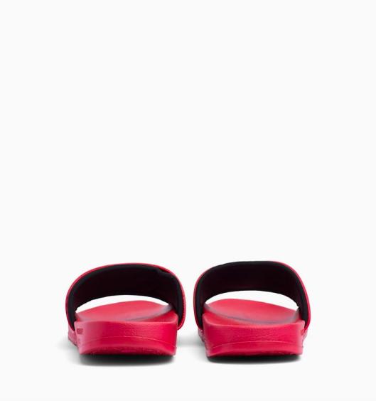 Calvin Klein Pantofle Intense Power Red - 4