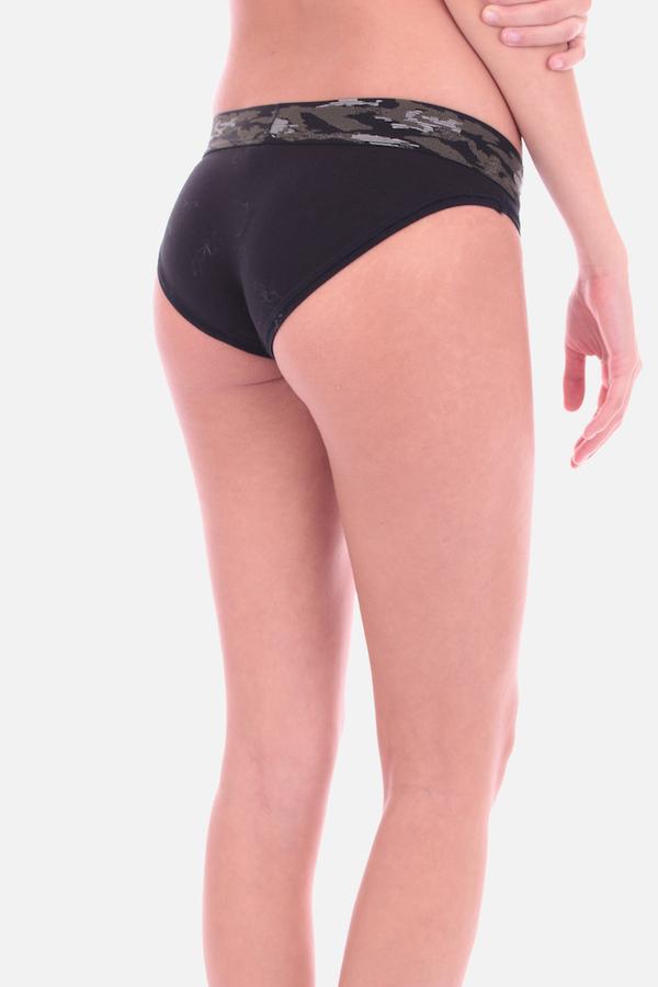 Calvin Klein Kalhotky Camo Black - 4