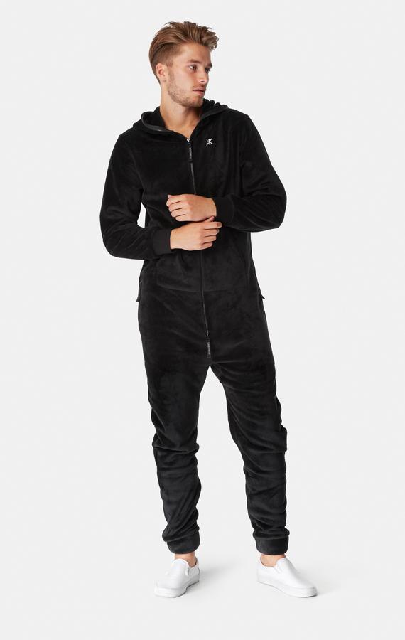 OnePiece Puppy Hug Fleece Black, M - 5