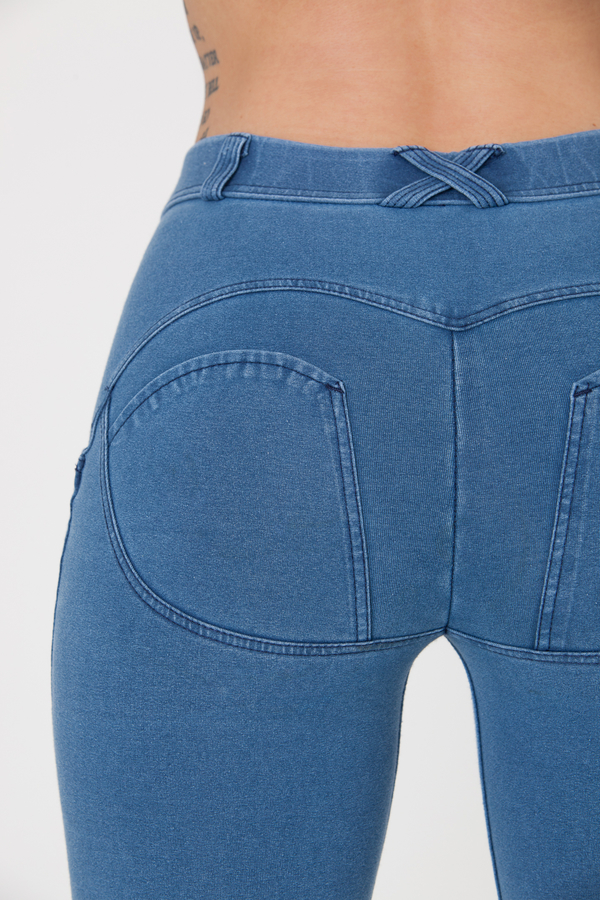 Boost Jeans Mid Waist P Light Blue, M - 5
