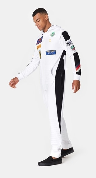 OnePiece Overal Formula White - 5