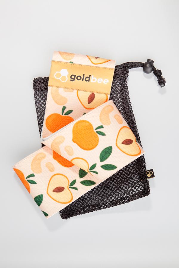 GoldBee Posilovací guma BeBooty Peach, L - 5