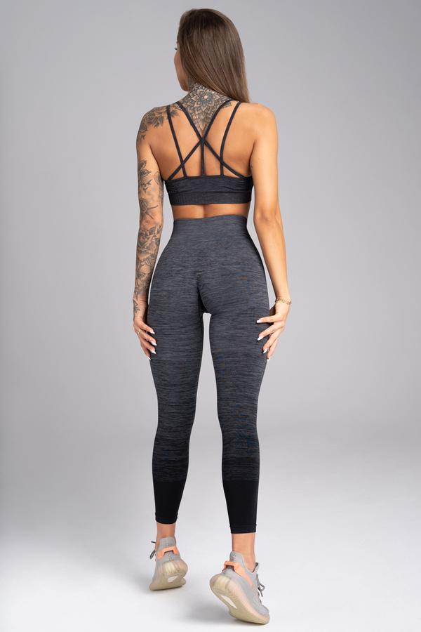 Gym Glamour Legíny Bezešvé Grey Ombre - 5