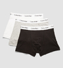 Calvin Klein 3Pack Boxerky Black, Grey&White, L - 5/5