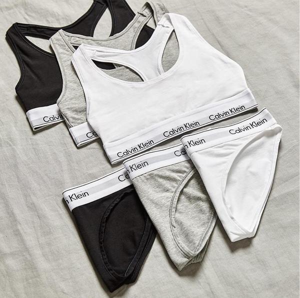 Calvin Klein 3Pack Kalhotky Black&Grey&White, L - 5