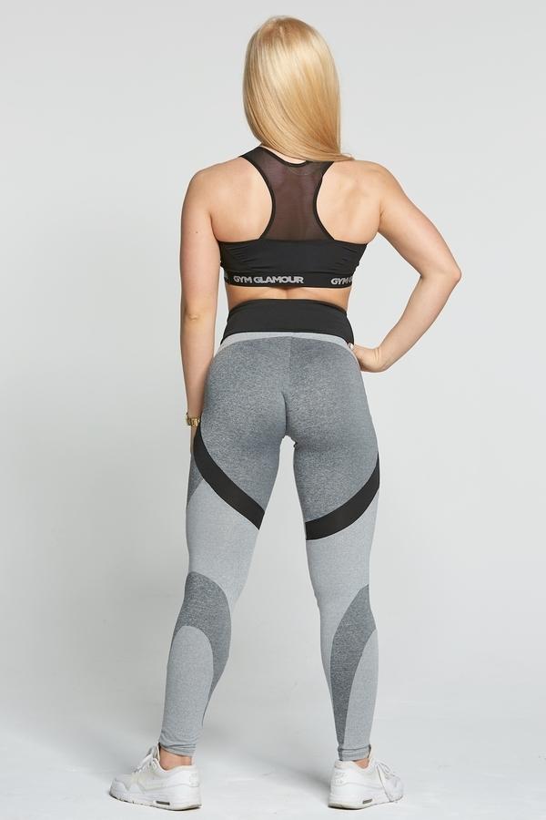 Gym Glamour Legíny Glam Mixed Grey, M - 5