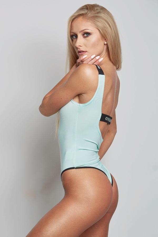 Gym Glamour Bodyčko Mentolové, XS - 5