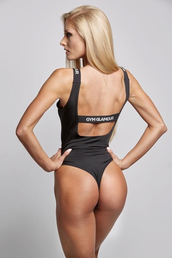 Gym Glamour Bodyčko Černé, S - 5