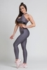 Gym Glamour Legíny High Waist Granite, M - 5/7