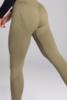 Gym Glamour Legíny Bezešvé Combat Khaki, S - 5/5