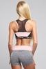 Gym Glamour Kraťásky Grey & Pink - 5/5