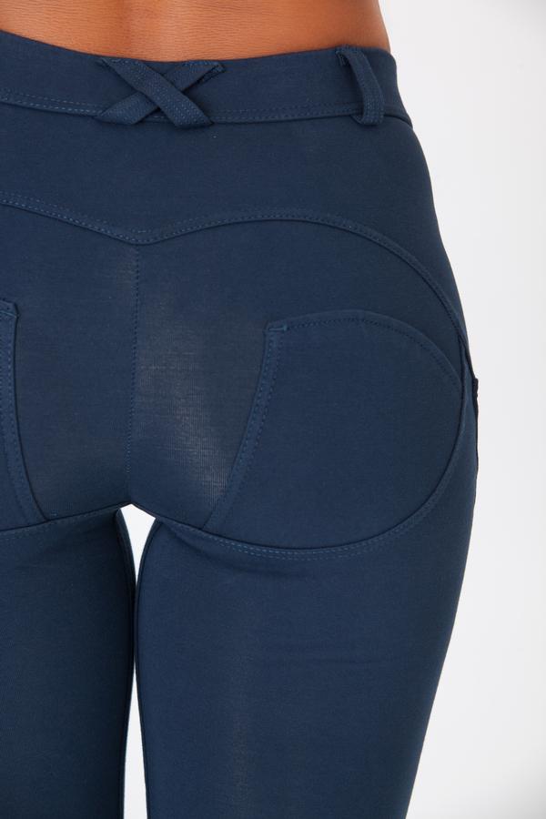 Boost Pants Mid Waist Dark Blue - 5