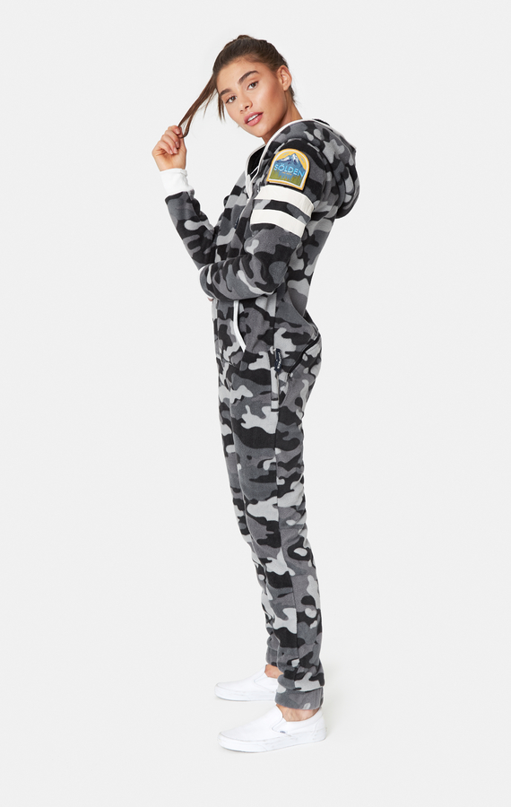 OnePiece Alps Camo Fleece Black - 5
