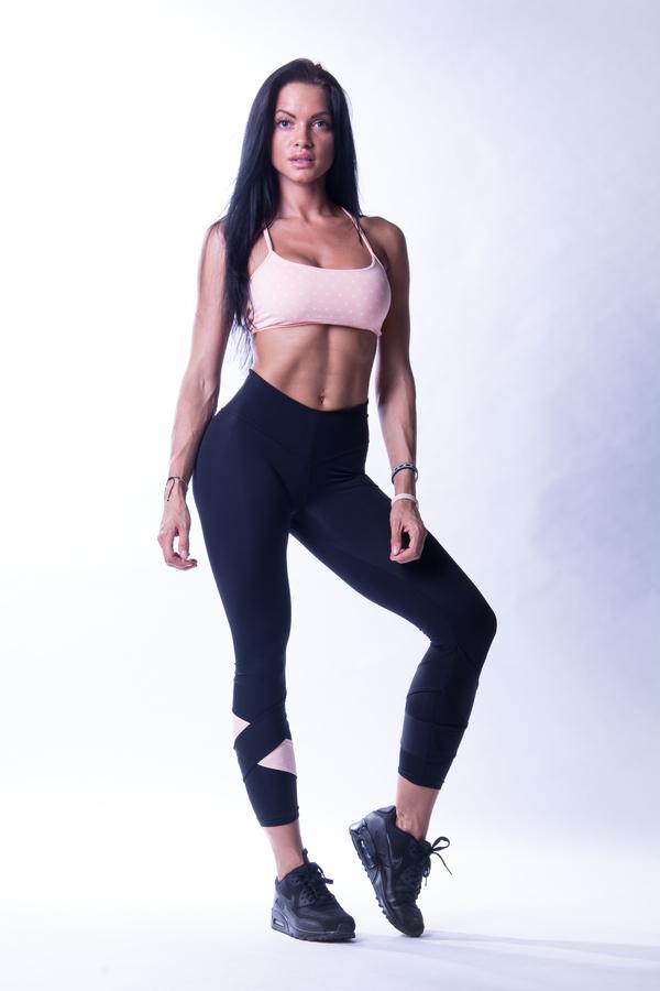 Nebbia 647 N's Fitness Podprsenka Lososová, M - 5
