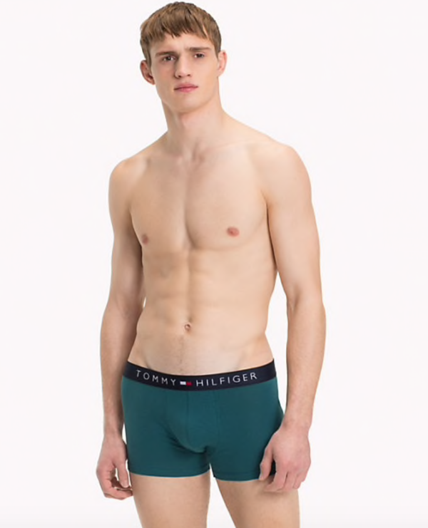 Tommy Hilfiger 3Pack Boxerky Red, Green, Navy - 5