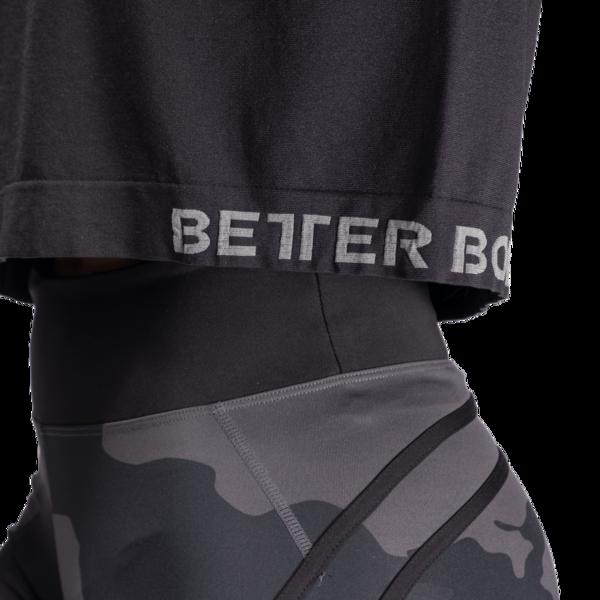 Better Bodies Tričko Rockaway Seamless Black, XS - 5