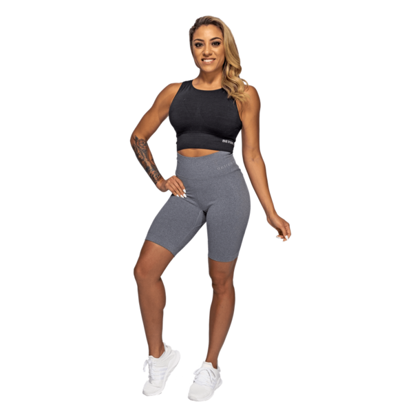 Better Bodies Kraťásky Rib Seamless Grey Melange, S - 5