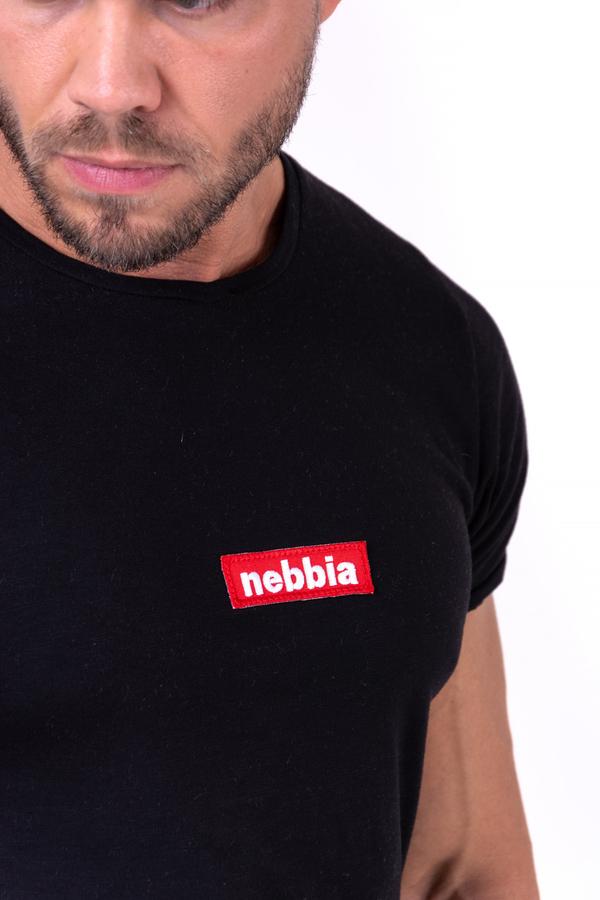Nebbia Triko 142 Red Label V-Typical Pánské Černé - 5