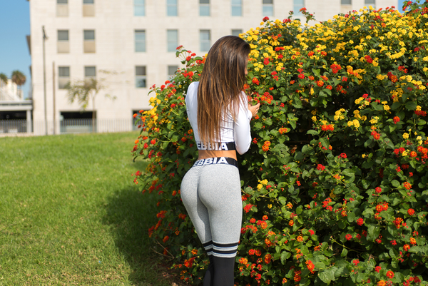 Nebbia Legíny Over The Knee 286 Grey - 6