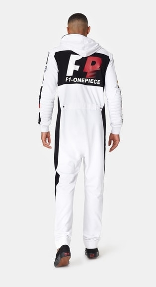 OnePiece Overal Formula White - 6