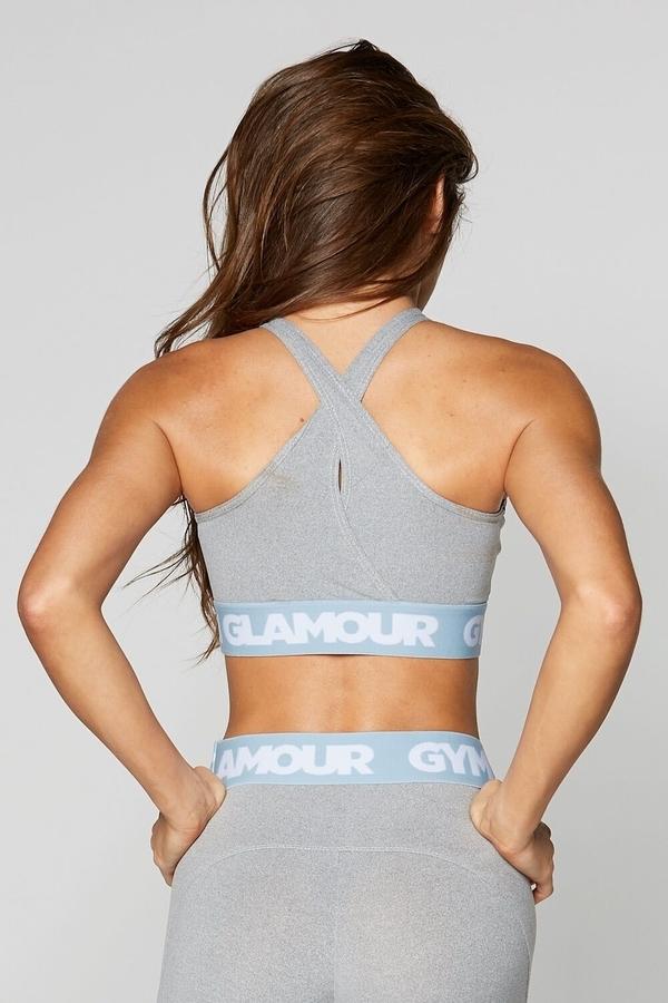 Gym Glamour Podprsenka Grey Basic - 6