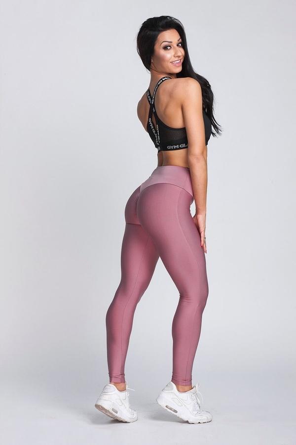 Gym Glamour Legíny High Waist Dirty Pink - 6