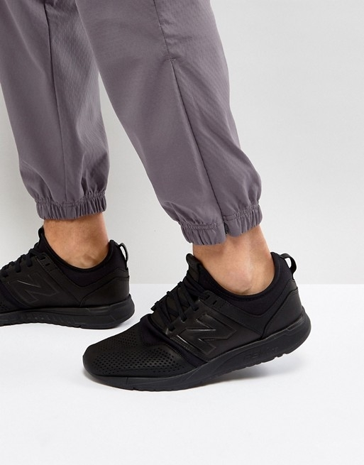 New Balance Pánské MRL247LK All Black, 9 - 6
