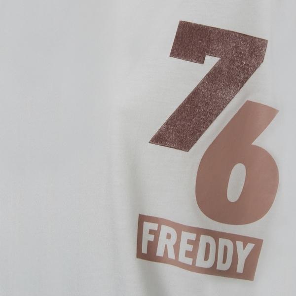 Freddy Oversize Triko Bílé, XS - 6