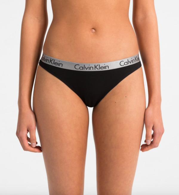 Calvin Klein 3Pack Tanga Red&Black, M - 6