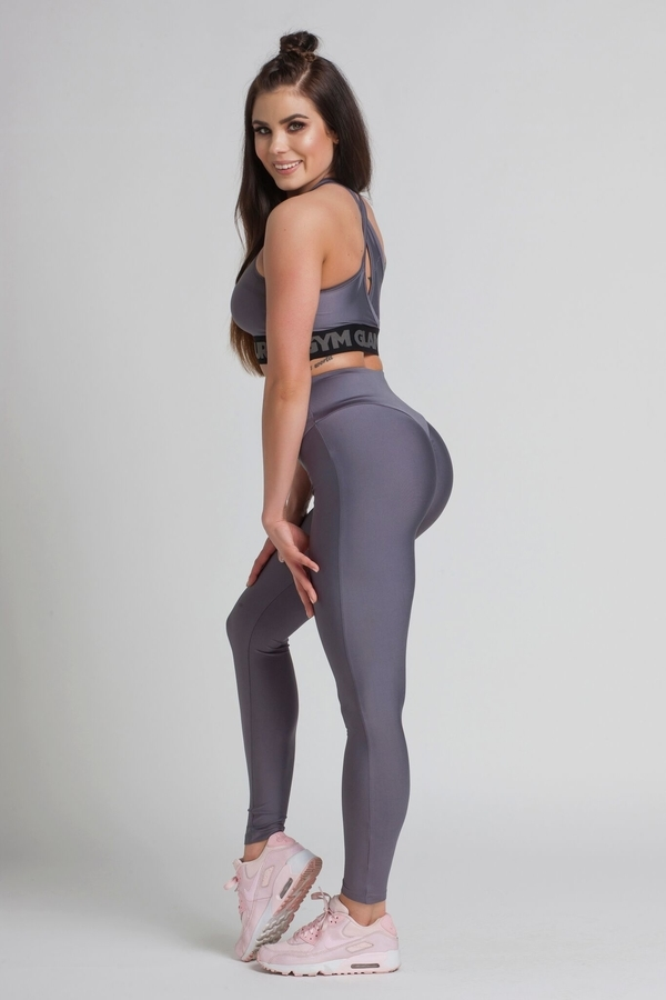 Gym Glamour Legíny High Waist Granite, M - 6