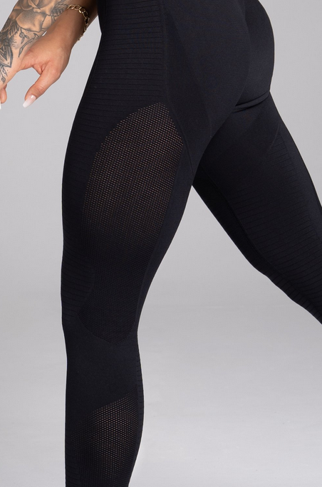 Gym Glamour Legíny Bezešvé Carbon - 6