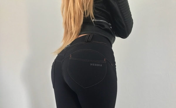 Nebbia Bubble Butt Revolution Black, L - 6