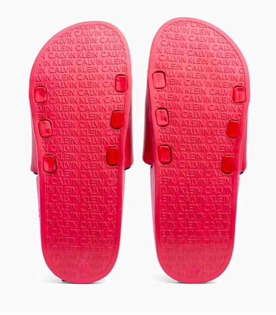 Calvin Klein Pantofle Intense Power Red - 6