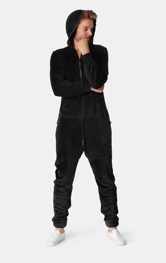 OnePiece Puppy Hug Fleece Black, M - 7