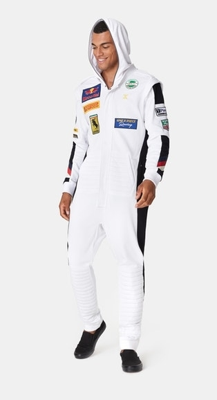 OnePiece Overal Formula White - 7