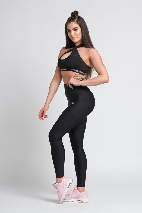 Gym Glamour Legíny Black, XS - 7